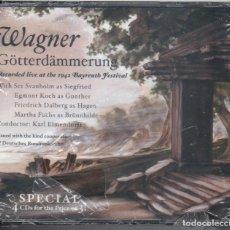 CDs de Música: EL CREPÚSCULO DE LOS DIOSES. BAYREUTH 1942. SVANHOLM, ELMENDORFF 4 CDS NUEVO PRECINTADO. Lote 189694298