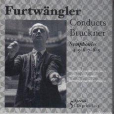 CDs de Música: FURTWÄNGLER DIRIGE BRUCKNER 5CDS NUEVO PRECINTADO. Lote 189694566