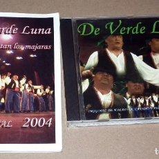 CDs de Música: CD Y LIBRETO COMPARSA DE VERDE LUNA. Lote 189710058