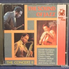 CDs de Música: VARIOUS - THE SOUND OF JAZZ / THE CONCERT II - CD. Lote 189733533
