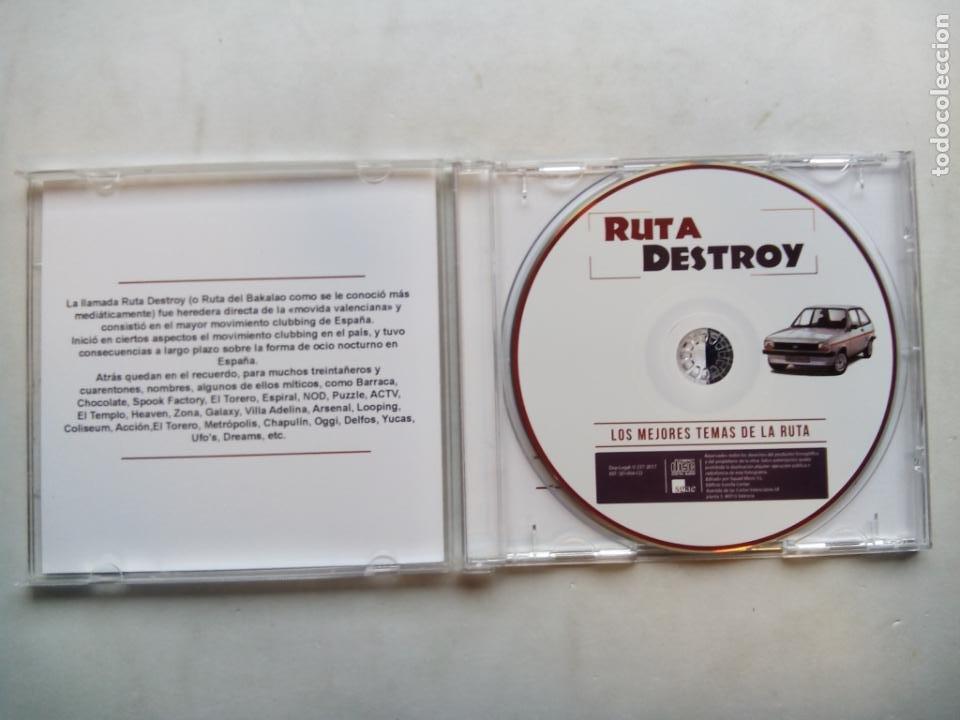 CDs de Música: RUTA DESTROY. LOS MEJORES TEMAS DE LA RUTA. CD SQUAD MUSIC SD-004-CD. ESPAÑA 2017. CHIMO BAYO. DUNNE - Foto 2 - 189747062