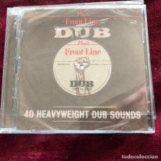 CDs de Música: VV.AA. - FRONT LINE PRESENTS DUB (1975 TO 1980) - CD DOBLE VIRGIN 2014 NUEVO. Lote 189815627