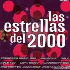CDs de Música: LAS ESTRELLAS DEL 2000. CD. MALU. FANGORIA. ZUCCHERO. MARTA SANCHEZ. CHAMACO. MOLOTOV. NUEVO. . Lote 189818507