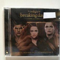 CDs de Musique: THE TWILIGHT SAGA BREAKING DAWN CREPUSCULO - CD PARTE 2 BSO. Lote 189825990