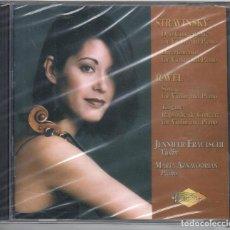 CDs de Música: STRAVINSKY, RAVEL: OBRAS PARA VIOLÍN Y PIANO NUEVO PRECINTADO. Lote 189877852