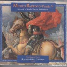 CDs de Música: MEXICO BARROCO V. MISSA DE LA BATALLA NUEVO PRECINTADO. Lote 189893190