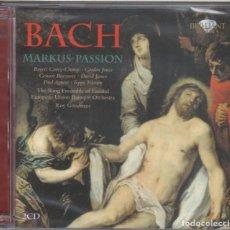CDs de Música: JOHANN SEBASTIAN BACH: MARKUS-PASSION 2 CDS NUEVO PRECINTADO. Lote 189897021