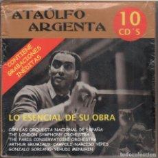 CDs de Música: ATAÚLFO ARGENTA. LO ESENCIAL DE SU OBRA 10 CDS NUEVO. PRECINTADO. Lote 189897172