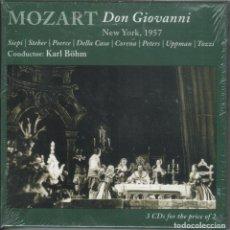 CDs de Música: MOZART: DON GIOVANNI. 3CDS. SIEPI, STEBER, CORENA. MET. BÖHM NUEVO. PRECINTADO. Lote 189897327