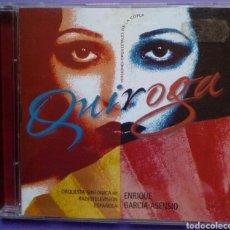 CDs de Música: QUIROGA, VERSIONES ORQUESTALES DE LA COPLA - ENRIQUE GARCIA ASENSIO, ORQUESTA SINFÓNICA DE RTVE. Lote 189902177