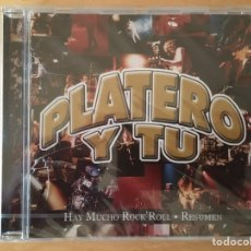 CDs de Música: PLATERO Y TÚ: HAY MUCHO ROCK'ROLL. RESUMEN. (PRECINTADO). Lote 189924476