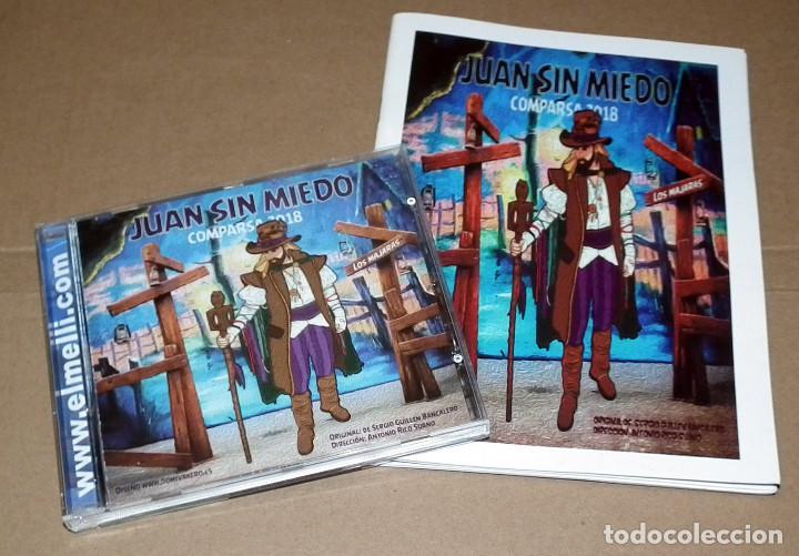 CD Y LIBRETO COMPARSA JUAN SIN MIEDO DE 2018 (Música - CD's Otros Estilos)