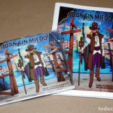 CDs de Música: CD Y LIBRETO COMPARSA JUAN SIN MIEDO DE 2018. Lote 189931897