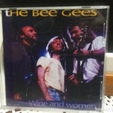 CDs de Música: THE BEE GEES WINE AND WOMAN CD UK 1993 PDELUXE . Lote 189953110