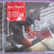 CDs de Música: ERIC CLAPTON - BACK HOME (CD, REPRISE RECORDS 2005, PRECINTADO). Lote 222053705