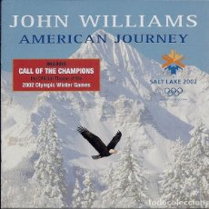 CDs de Música: JOHN WILLIAMS AMERICAN JOURNEY DESCATALOGADA. Lote 189962140