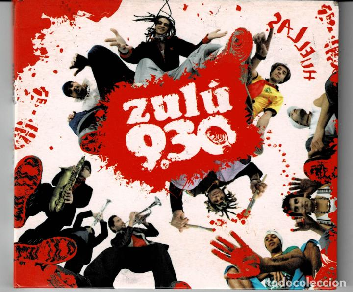 ZULU 9.30 - HUELLAS / CD DIGIPACK DE 2008 RF-3764 , PERFECTO ESTADO (Música - CD's Reggae)