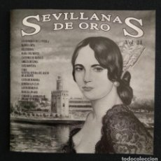 CDs de Música: CD DOBLE 1991 SEVILLANAS DE ORO VOL.21. Lote 189998315