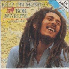 CDs de Música: BOB MARLEY CD SINGLE KEEP ON MOVING (2 VERSIONES) 1995. Lote 190061818