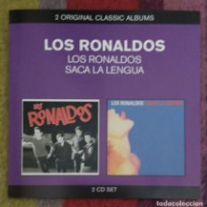 CDs de Música: LOS RONALDOS (LOS RONALDOS - SACA LA LENGUA) 2 CD'S SERIE ORIGINAL CLASSIC ALBUMS. Lote 190062978