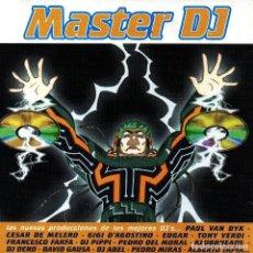 CDs de Música: MASTER DJ. LAS NUEVAS PRODUCCIONES DE LOS MEJORES DJ. PROGRESSSIVE. HOUSE. DOBLE CD. (2 DISCOS).. Lote 190066387