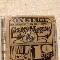 CDs de Música: LOGGINS & MESSINA ON STAGE LIVE 2CDS. Lote 190085832