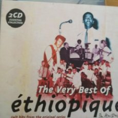 CDs de Música: ETHIOPIQUES THE VERT BEST OF 2XCDS. Lote 190097482