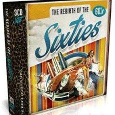CDs de Música: THE REBIRTH OF THE SIXTIES * 3CD * 24 BITS * LTD DIGIPACK * PRECINTADO. Lote 190099076