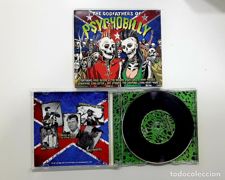 THE GODFATHERS OF PSYCHOBILLY (2 X CD. NOT NOW.2012) LINK WRAY,DICK DALE,SONICS,SCREAMING LORD SUTCH (Música - CD's Rock)