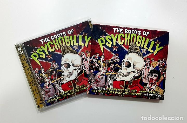 CDs de Música: The Roots Of Psychobilly (2 x cd. Not Now.2012) Phantom,Dick Dale,Link Wray, Johnny Burnette - Foto 7 - 190165821