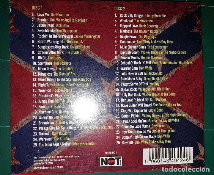 CDs de Música: The Roots Of Psychobilly (2 x cd. Not Now.2012) Phantom,Dick Dale,Link Wray, Johnny Burnette - Foto 3 - 190165821