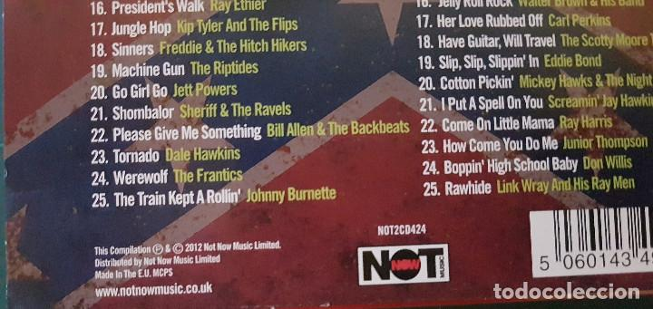 CDs de Música: The Roots Of Psychobilly (2 x cd. Not Now.2012) Phantom,Dick Dale,Link Wray, Johnny Burnette - Foto 6 - 190165821