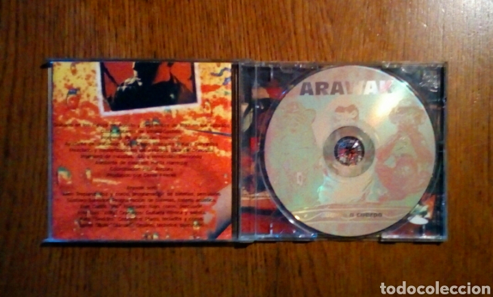 CDs de Música: Arawak - Cuerpo a cuerpo, Oihuka, 1997. Euskal Herria. - Foto 2 - 190202663