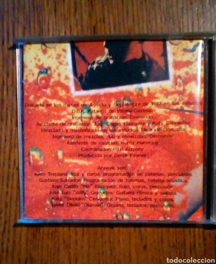 CDs de Música: Arawak - Cuerpo a cuerpo, Oihuka, 1997. Euskal Herria. - Foto 3 - 190202663