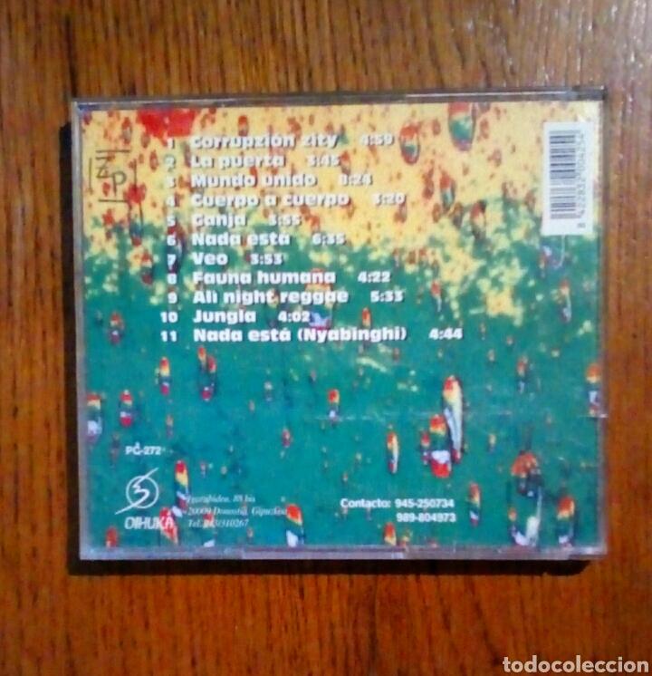 CDs de Música: Arawak - Cuerpo a cuerpo, Oihuka, 1997. Euskal Herria. - Foto 6 - 190202663