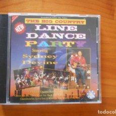 CDs de Música: CD THE BIG COUNTRY - LINE DANCE PARTY - SYDNEY DEVINE (4M). Lote 190209163