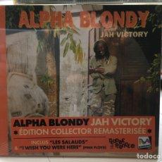 CDs de Música: ALPHA BLONDY: JAH VICTORY (D:M/C:M) (PRECINTADO). Lote 190238158