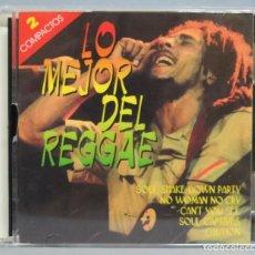 CDs de Música: 2 CD. LO MEJOR DEL REGGAE. Lote 190301412