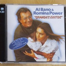 CDs de Música: AL BANO & ROMINA POWER (GRANDES EXITOS) 2 CD'S 1997. Lote 190302345
