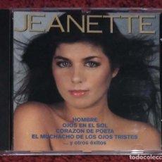 CDs de Música: JEANETTE (CORAZON DE POETA) CD 1992 . Lote 190302381