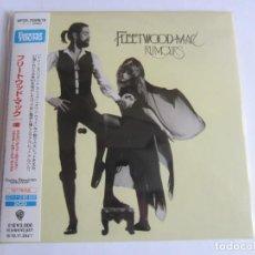 CDs de Música: FLEETWOOD MAC - RUMOURS + 18 BONUS EXPANDED & REMASTERED 1975/2010 JAPAN 2 X CD WPCR-75509/10. Lote 190343170