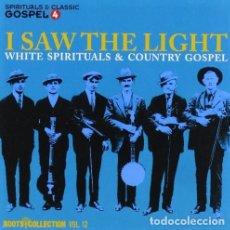 CDs de Música: I SAW THE LIGHT: WHITE SPIRITUALS & COUNTRY GOSPEL,- 2 CDS - ROOTS COLLECTION12 - NUEVO Y PRECINTADO. Lote 190345666
