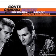 CDs de Música: CONTE CANDOLI COMPLETE RECORDINGS W/ BILL HOLLMAN + LOU LEVY CD JAZZ. Lote 190359322