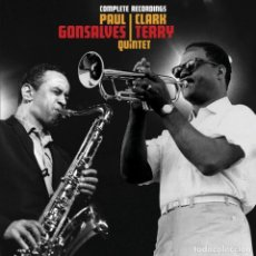 CDs de Música: PAUL GONSALVES COMPLETE RECORDINGS WITH CLARK TERRY CD JAZZ. Lote 190363147