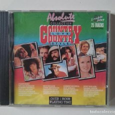 CDs de Música: ABSOLUTE COLLECTION. COUNTRY LOVE STYLE. Lote 190365980
