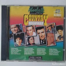 CDs de Música: ABSOLUTE COLLECTION. COUNTRY HIGHWAY. Lote 190370856