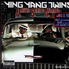 CDs de Música: YING YANG TWINS. U.S.A UNITED STATE OF ATLANTA. TVT RECORDS 2005. HIP HOP. CD.. Lote 190377632