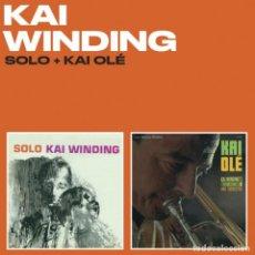 CDs de Música: KAI WINDING SOLO + KAI OLE CD JAZZ . Lote 190381751