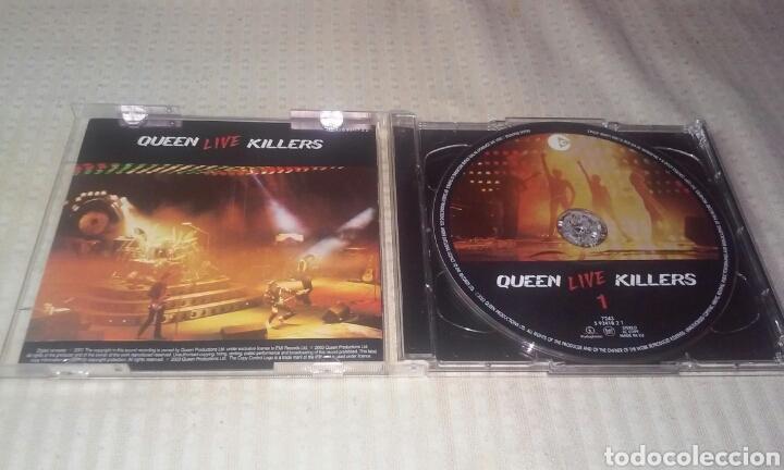 CDs de Música: QUEEN LIVE KILLERS ( LOTE DE 2 CDS) - Foto 2 - 190383617