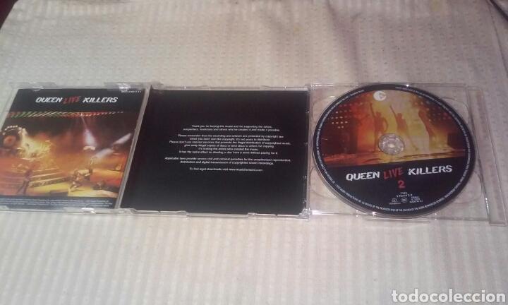 CDs de Música: QUEEN LIVE KILLERS ( LOTE DE 2 CDS) - Foto 3 - 190383617